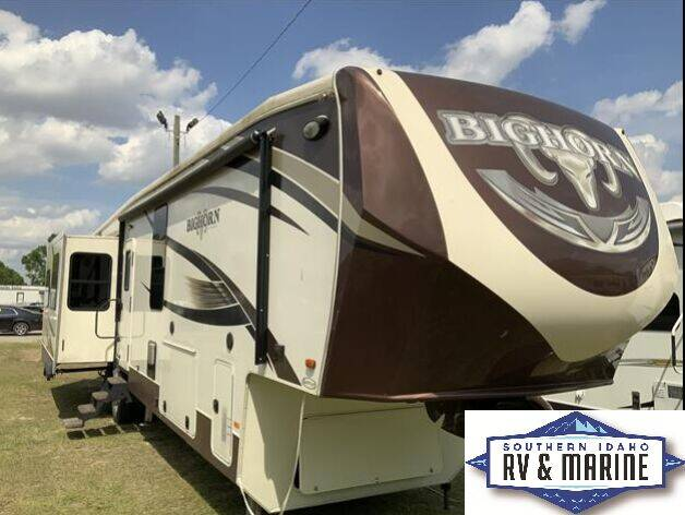 2017 HEARTLAND BIGHORN 3875FB for sale at SOUTHERN IDAHO RV AND MARINE in Jerome ID