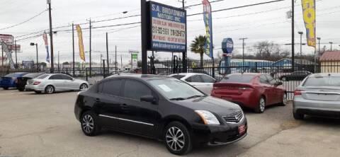 2011 Nissan Sentra for sale at S.A. BROADWAY MOTORS INC in San Antonio TX