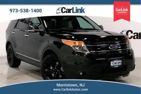 2015 Ford Explorer for sale at CarLink in Morristown NJ