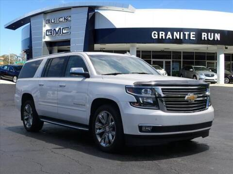 2016 Chevrolet Suburban for sale at GRANITE RUN PRE OWNED CAR AND TRUCK OUTLET in Media PA