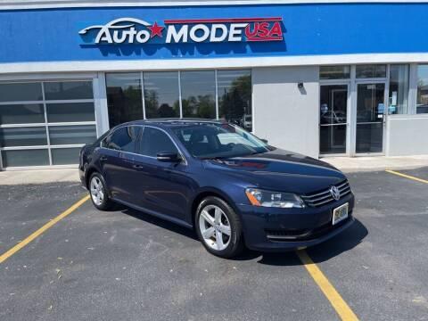 2012 Volkswagen Passat for sale at AUTO MODE USA-Monee in Monee IL