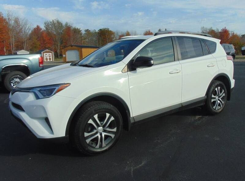 2017 Toyota RAV4 for sale at Greg's Auto Sales in Searsport ME