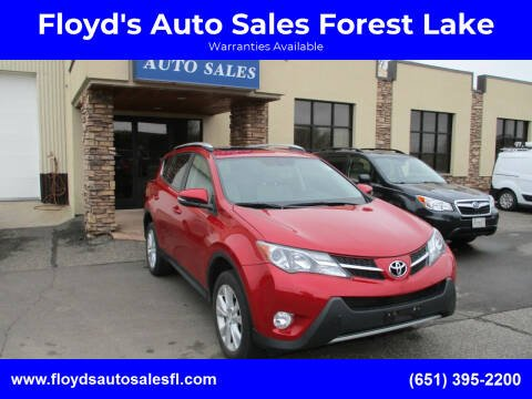 2015 Toyota RAV4 for sale at Floyd's Auto Sales Forest Lake in Forest Lake MN