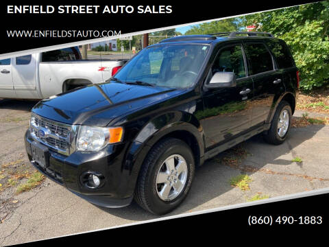 2012 Ford Escape for sale at ENFIELD STREET AUTO SALES in Enfield CT