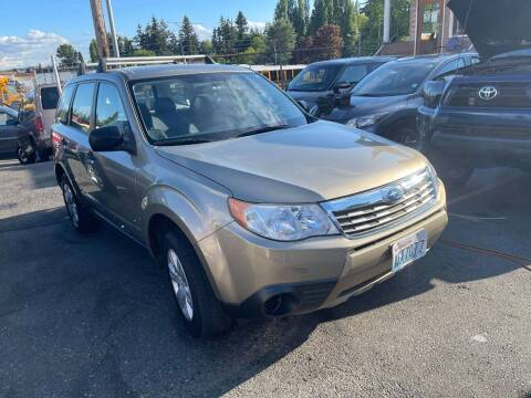 2009 Subaru Forester for sale at SNS AUTO SALES in Seattle WA