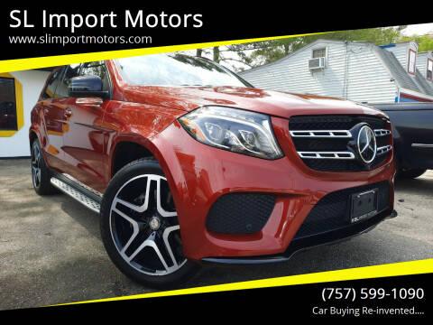 2017 Mercedes-Benz GLS for sale at SL Import Motors in Newport News VA