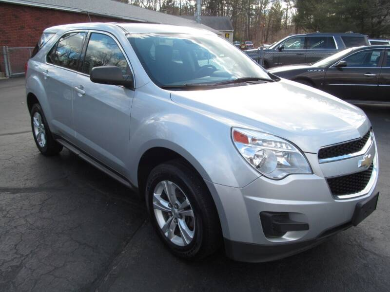 2013 Chevrolet Equinox for sale at Old Time Auto Sales, Inc in Milford MA