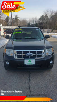 2008 Ford Escape Hybrid for sale at Shamrock Auto Brokers, LLC in Belmont NH