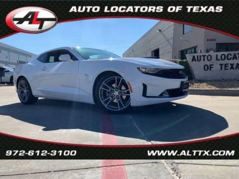 2019 Chevrolet Camaro for sale at AUTO LOCATORS OF TEXAS in Plano TX