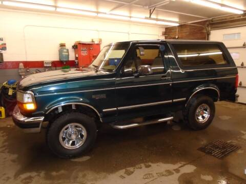 1994 Ford Bronco for sale at East Barre Auto Sales, LLC in East Barre VT