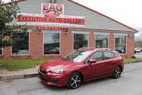 2019 Subaru Impreza for sale at EXECUTIVE AUTO GALLERY INC in Walnutport PA