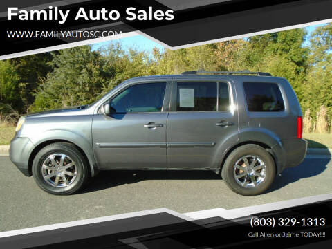 2013 Honda Pilot for sale at Family Auto Sales in Rock Hill SC