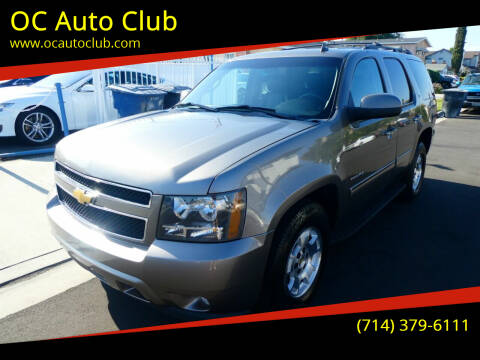 2013 Chevrolet Tahoe for sale at OC Auto Club in Midway City CA