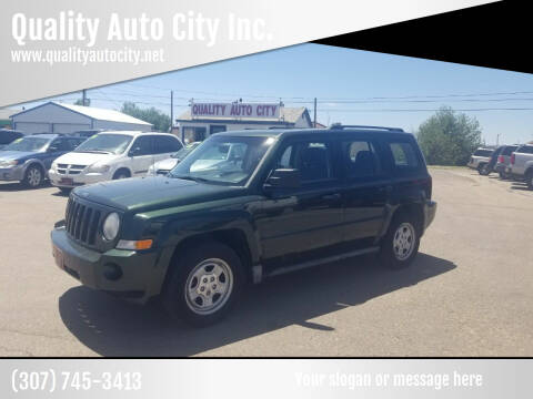 2010 Jeep Patriot for sale at Quality Auto City Inc. in Laramie WY