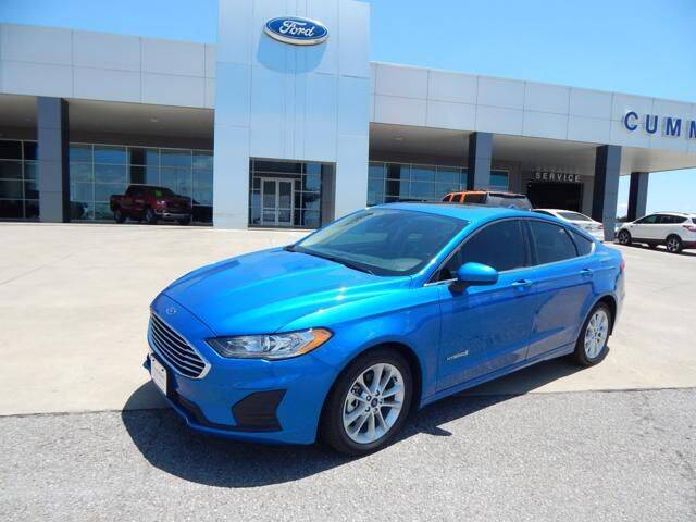 2019 Ford Fusion Hybrid for sale in Weatherford, OK