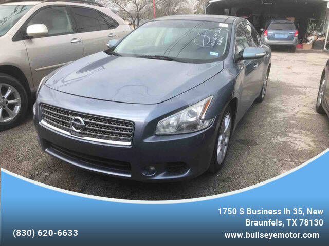 2011 Nissan Maxima for sale at BULLSEYE MOTORS INC in New Braunfels TX