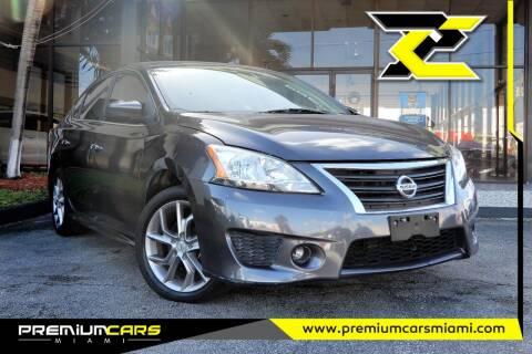 2013 Nissan Sentra for sale at Premium Cars of Miami in Miami FL