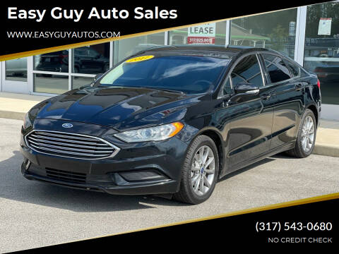 2017 Ford Fusion for sale at Easy Guy Auto Sales in Indianapolis IN
