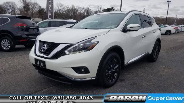 2018 Nissan Murano for sale at Baron Super Center in Patchogue NY