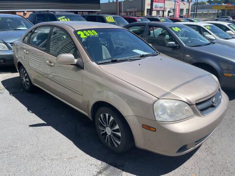 2007 Suzuki Forenza for sale at American Dream Motors in Everett WA