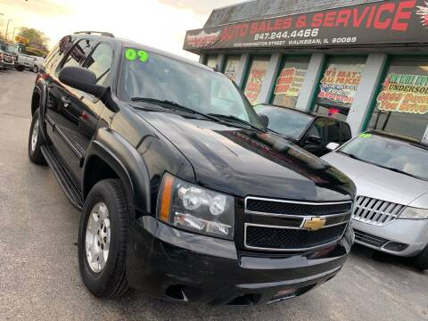 2009 Chevrolet Tahoe for sale at Washington Auto Group in Waukegan IL