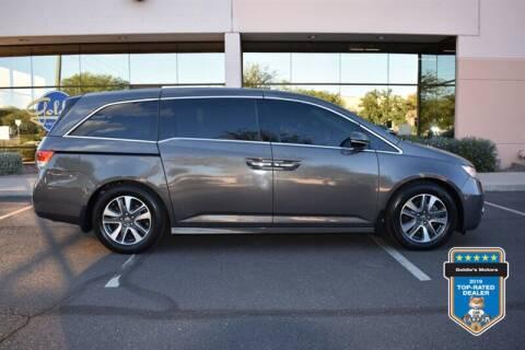 2016 Honda Odyssey for sale at GOLDIES MOTORS in Phoenix AZ