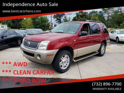 2005 Mercury Mountaineer for sale at Independence Auto Sale in Bordentown NJ