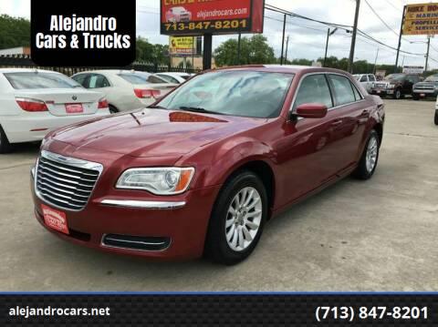 2011 Chrysler 300 for sale at Alejandro Cars & Trucks in Houston TX