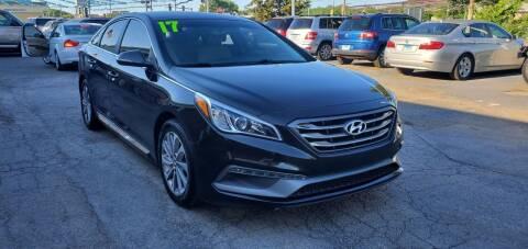 2017 Hyundai Sonata for sale at I-80 Auto Sales in Hazel Crest IL