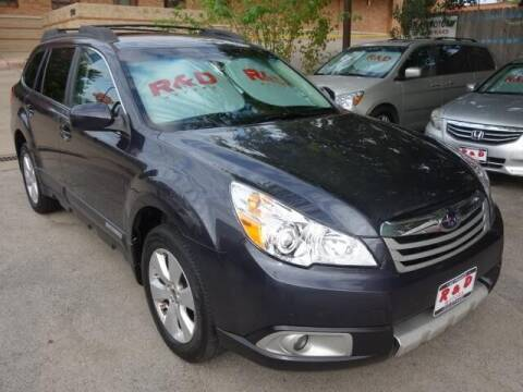 2010 Subaru Outback for sale at R & D Motors in Austin TX