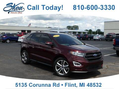 2017 Ford Edge for sale at Erick's Used Car Factory in Flint MI