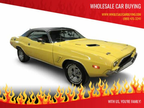 1973 Dodge Challenger for sale at Wholesale Car Buying in Saginaw MI