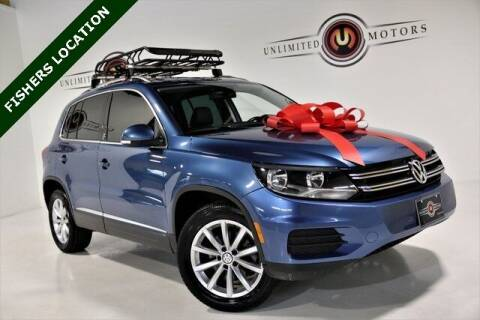 2017 Volkswagen Tiguan for sale at Unlimited Motors in Fishers IN