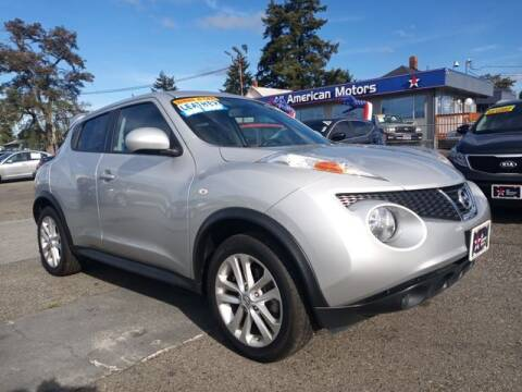 2014 Nissan JUKE for sale at All American Motors in Tacoma WA