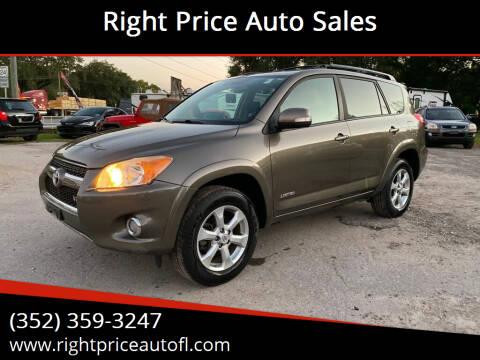 2010 Toyota RAV4 for sale at Right Price Auto Sales in Waldo FL