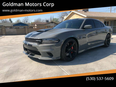 2017 Dodge Charger for sale at Goldman Motors Corp in Stockton CA