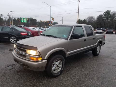2003 Chevrolet S-10 for sale at Official Auto Sales in Plaistow NH