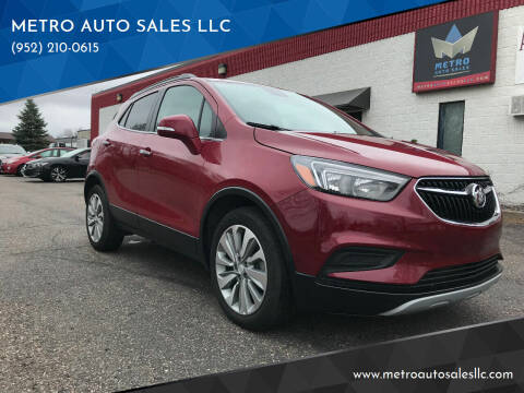2018 Buick Encore for sale at METRO AUTO SALES LLC in Blaine MN