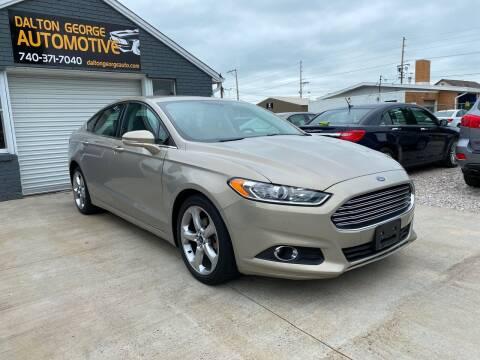 2015 Ford Fusion for sale at Dalton George Automotive in Marietta OH