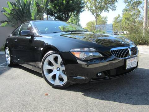 2006 BMW 6 Series for sale at ORANGE COUNTY AUTO WHOLESALE in Irvine CA