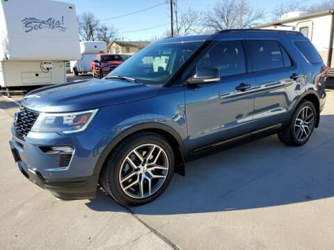 2018 Ford Explorer for sale at Kell Auto Sales, Inc - Grace Street in Wichita Falls TX