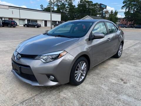 2015 Toyota Corolla for sale at AUTO WOODLANDS in Magnolia TX