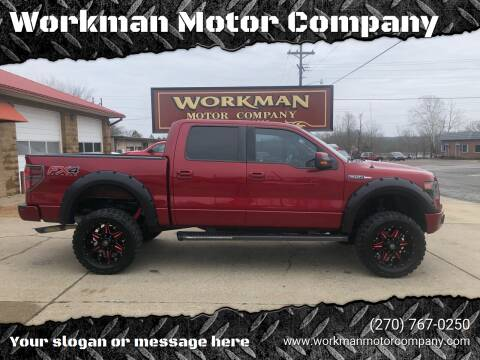 2013 Ford F-150 for sale at Workman Motor Company in Murray KY