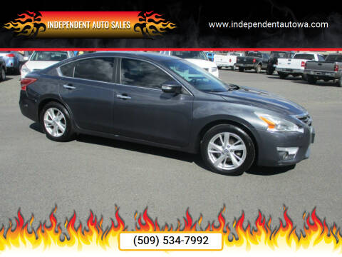 2013 Nissan Altima for sale at Independent Auto Sales in Spokane Valley WA
