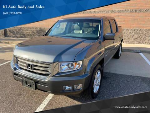 2012 Honda Ridgeline for sale at KI Auto Body and Sales in Lino Lakes MN