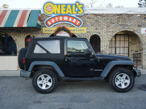 2008 Jeep Wrangler for sale at Oneal's Automart LLC in Slidell LA