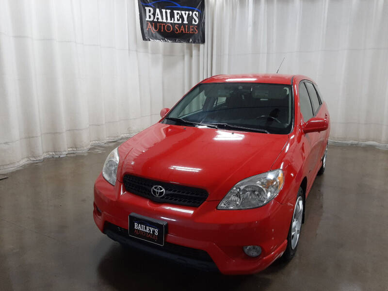2008 Toyota Matrix for sale at Bailey's Auto Sales in Fargo ND