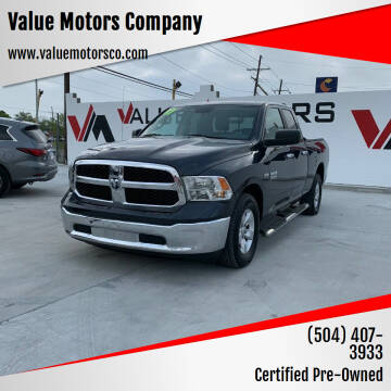 2017 RAM Ram Pickup 1500 for sale at Value Motors Company in Marrero LA