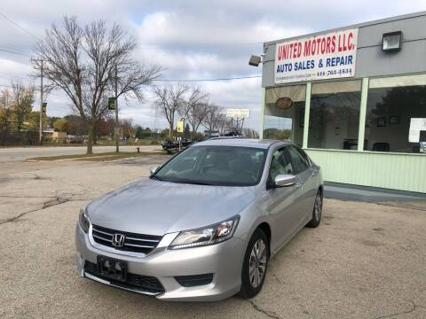 2015 Honda Accord for sale at United Motors LLC in Saint Francis WI