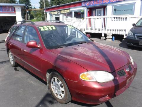 2000 Hyundai Elantra for sale at 777 Auto Sales and Service in Tacoma WA